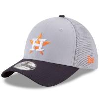 Houston Astros mlb new era flex спортивная бейсболка серая