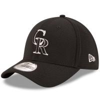 Colorado Rockies mlb new era flex reduxe спортивная бейсболка черная