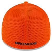 Denver Broncos nfl new era flex спортивная бейсболка оранжевая