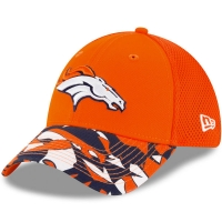 Denver Broncos nfl new era flex спортивная бейсболка оранжевая
