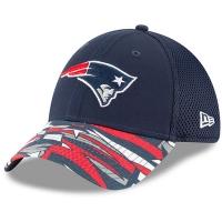 New England Patriots nfl new era flex спортивная бейсболка темно-синяя