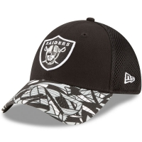Oakland Raiders nfl new era flex спортивная бейсболка черная