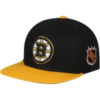 Boston Bruins nhl american needle snapback хоккейная кепка черная