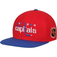 Washington Capitals nhl american needle snapback хоккейная кепка красная