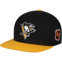 Pittsburgh Penguins nhl american needle snapback хоккейная кепка черная