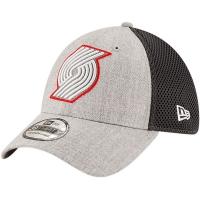 Portland Trail Blazers nba new era flex-fit shadowed спортивная бейсболка серая