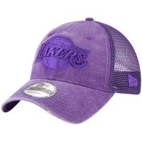 Los Angeles Lakers nba new era trucker спортивная бейсболка с сеткой