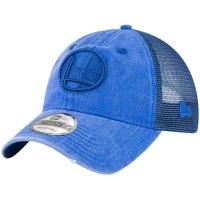 Golden State Warriors nba new era trucker спортивная бейсболка с сеткой синяя