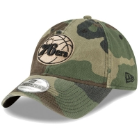 Philadelphia 76ers nba new era camo спортивная бейсболка камуфляжная
