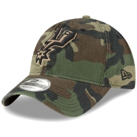 San Antonio Spurs nba new era camo classic спортивная бейсболка камуфляжная