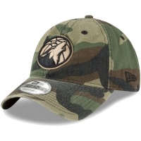Minnesota Timberwolves nba new era camo спортивная бейсболка камуфляжная