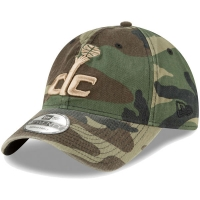 Washington Wizards nba new era camo спортивная бейсболка камуфляжная