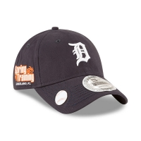 Detroit Tigers mlb new era ballmark спортивная бейсболка темно-синяя