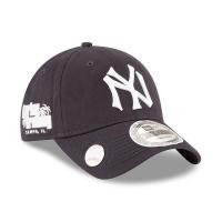 New York Yankees mlb new era NY ballmark спортивная бейсболка темно-синяя