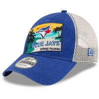 Toronto Blue Jays mlb new era trucker спортивная бейсболка с сеткой синяя