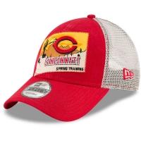 Cincinnati Reds mlb new era trucker спортивная бейсболка с сеткой красная