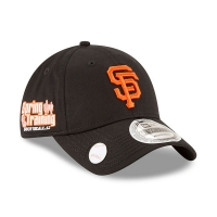 San Francisco Giants mlb new era ballmark спортивная бейсболка черная