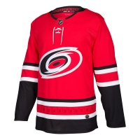 Carolina Hurricanes nhl adidas authentic хоккейный свитер красный