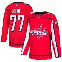 TJ Oshie Washington Capitals nhl adidas authentic хоккейный свитер красный