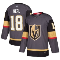 James Neal Vegas Golden Knights nhl adidas authentic хоккейный свитер серый