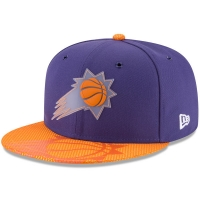 Phoenix Suns nba new era on-court snapback спортивная кепка фиолетовая