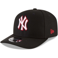 New York Yankees mlb new era NY snapback спортивная бейсболка черная