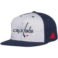 Washington Capitals nhl adidas snapback contrast хоккейная кепка темно-синяя