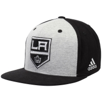 Los Angeles Kings nhl adidas snapback contrast хоккейная кепка черная