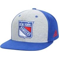 New York Rangers nhl adidas snapback contrast хоккейная кепка синяя
