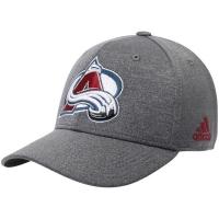 Colorado Avalanche nhl adidas flex-fit хоккейная бейсболка серая