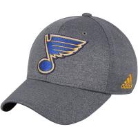 St Louis Blues nhl adidas flex-fit хоккейная бейсболка серая