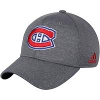 Montreal Canadiens nhl adidas flex-fit хоккейная бейсболка серая