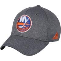New York Islanders nhl adidas flex-fit хоккейная бейсболка серая