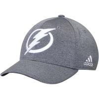 Tampa Bay Lightning nhl adidas flex-fit хоккейная бейсболка серая