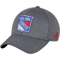 New York Rangers nhl adidas flex-fit хоккейная бейсболка серая