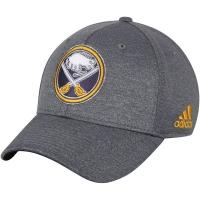 Buffalo Sabres nhl adidas flex-fit хоккейная бейсболка серая