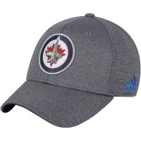Winnipeg Jets nhl adidas flex-fit хоккейная бейсболка серая