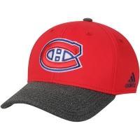 Montreal Canadiens nhl adidas performance хоккейная бейсболка красная