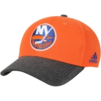 New York Islanders nhl adidas performance хоккейная бейсболка оранжевая