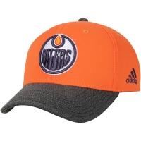 Edmonton Oilers nhl adidas performance хоккейная бейсболка оранжевая