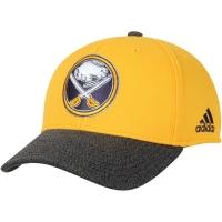Buffalo Sabres nhl adidas performance snapback хоккейная бейсболка желтая