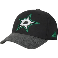 Dallas Stars nhl adidas performance хоккейная бейсболка черная
