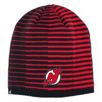 New Jersey Devils nhl adidas pattern хоккейная шапка красная