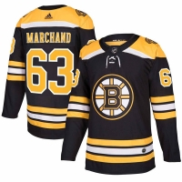 Brad Marchand Boston Bruins nhl adidas authentic хоккейный свитер черный