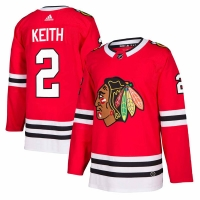 Duncan Keith Chicago Blackhawks nhl adidas authentic хоккейный свитер красный
