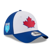 Toronto Blue Jays mlb new era flex training спортивная бейсболка синяя