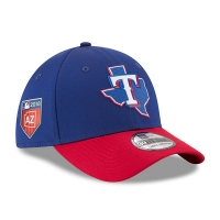 Texas Rangers mlb new era flex спортивная бейсболка синяя