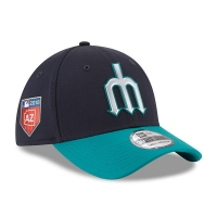 Seattle Mariners mlb new era flex spring training спортивная бейсболка