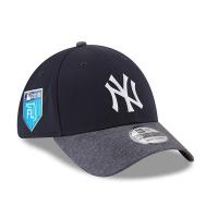 New York Yankees mlb new era NY flex training спортивная бейсболка темно-синяя