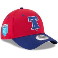 Philadelphia Phillies mlb new era flex training спортивная бейсболка красная